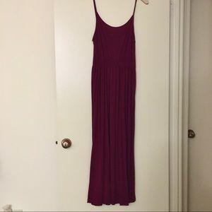 Spaghetti Strap Maxi Dress